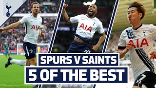 Kane, Son, Lucas & Eriksen | 5 OF THE BEST HOME GOALS V SOUTHAMPTON
