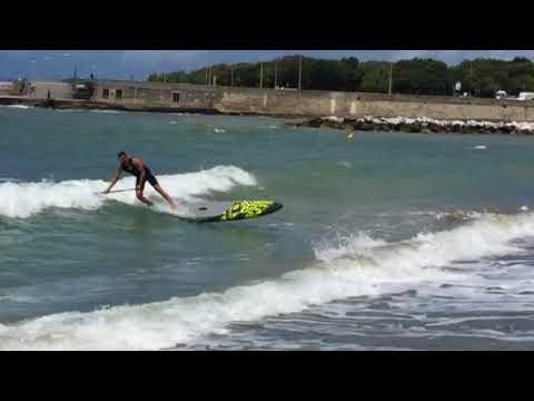 Surfing at 3 Ponti Livorno