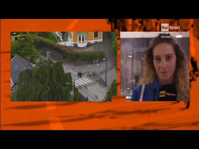 Vittoria Guazzini intervistata da Rai Sport