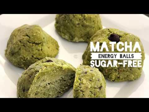 Matcha Energy Balls - Sugar free