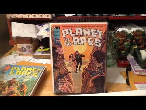 1970's SERIES OF THE WEEK: PLANET OF THE APES MAGAZINE PART 1