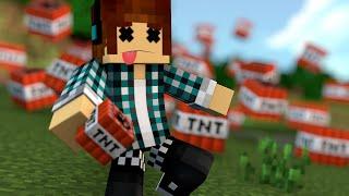 Minecraft 30 MANEIRAS DE MORRER NO MINECRAFT POR TNT'S (Parte 2)