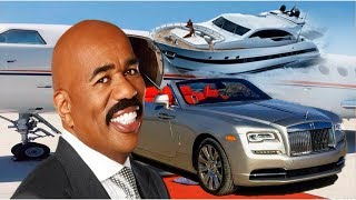 8 MOST EXPENSIVE THINGS OWNED BY AMERICAN COMEDIAN AND TELEVISON HOST STEVE HARVEY