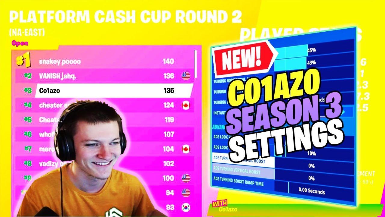 Co1azo Season 3 Settings