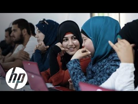 Reinventing Opportunity Through Education in Jordan | HP Learning Studio | HP