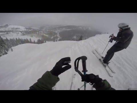 Skiing Deer Valley 2016
