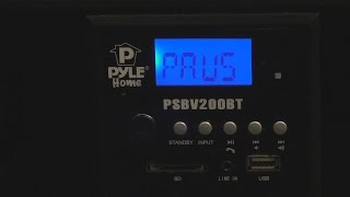 Pyle 300 watt Home Sound Bar Bass Review
