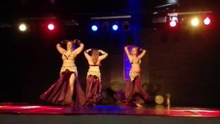 Oriental dance by showteam Yohara