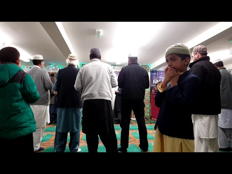 North Manchester Jamia Mosque. Grand Mawlid 2017. Day 1 of 3