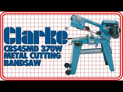 Clarke CBS45MD 370W Metal Cutting Bandsaw