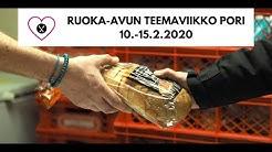 Ruoka-avun teemaviikko Porissa 10.-15.2.2020