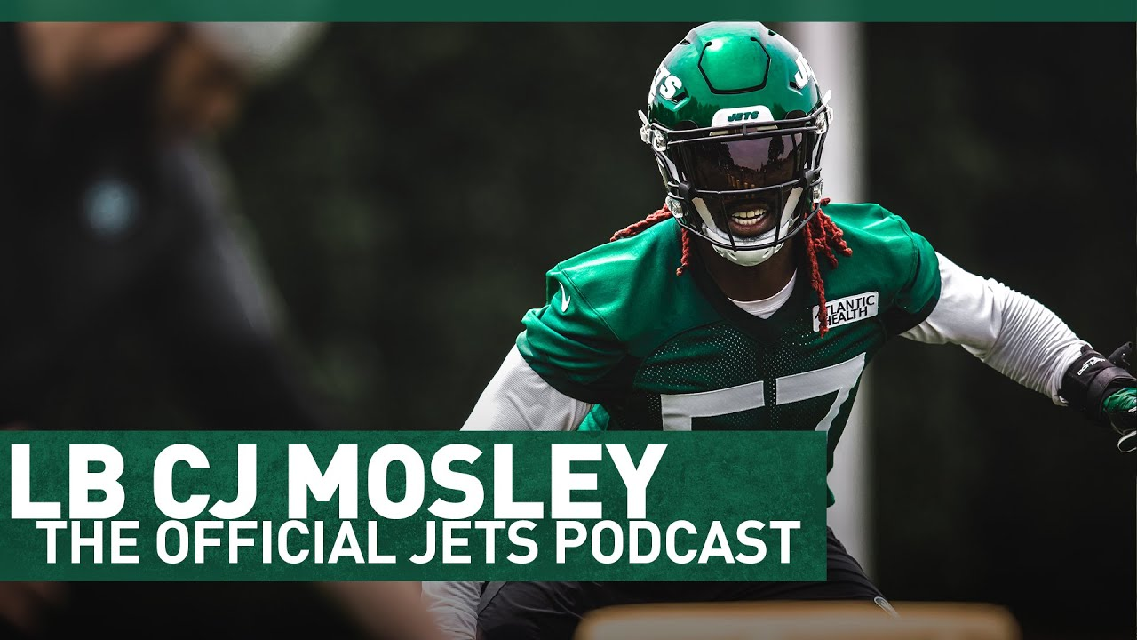 LB C.J. Mosley On The 2021 Jets Season | The Official Jets Podcast | NFL