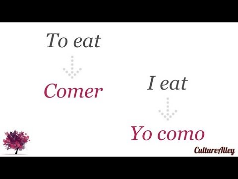 Basic Spanish | Lesson 8 | Forms of regular verbs (conjugation) - get your verbs right!