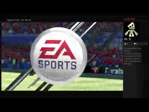 First fifa 17 gameplay from Ghana.