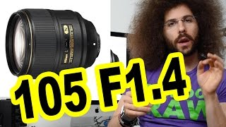 Nikon 105mm F1.4 Lens Preview: BEST / Sharpest Portrait Photography Lens Ever Made?