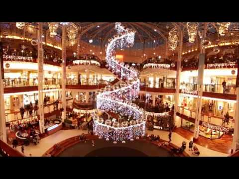 Princes Square at Christmas in 360 degrees