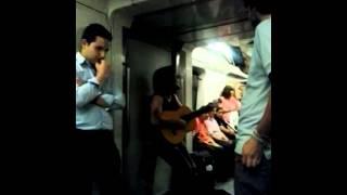 Rafael Budu en metro de Santiago - L4A