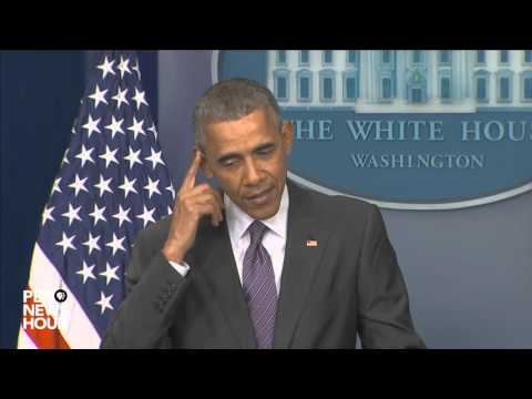 President Obama surprises student journalists at White House