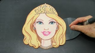 Making Barbie Doll PANCAKE
