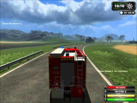 landwirtschafts simulator 2011 feuerwehr einsatz