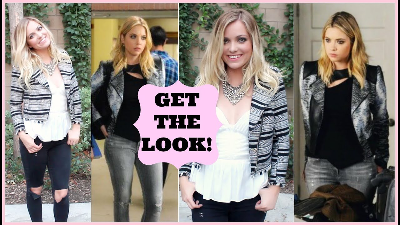 Hanna Marin Hair, Makeup & Outfit / Pretty Little Liars