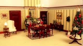 Watch This Dolls' House Decorate Itself For Christmas!