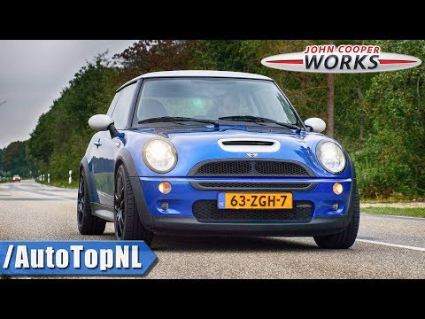 MINI COOPER S JCW R53 | STRAIGHT PIPE Exhaust SOUND By AutoTopNL