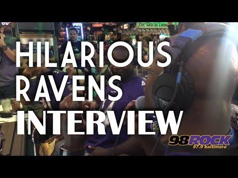Justin Scott and Spiegel Talk To Ravens Alumni