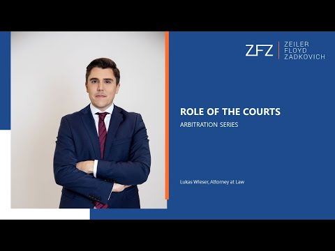 Role of the Courts   Arbitration Series