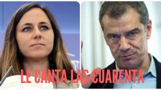 Toni Cantó vapulea a la podemita Belarra por seguir culpando a VOX de homofobia: «¡No tienen...