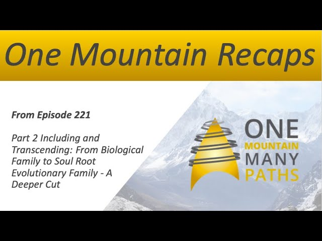 One Mountain: Recap