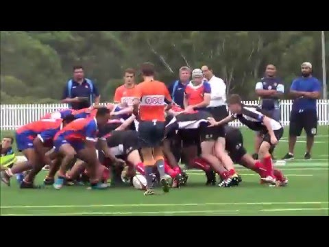 Under 17 South Australia v Metro West 2016 Junior Gold Cup