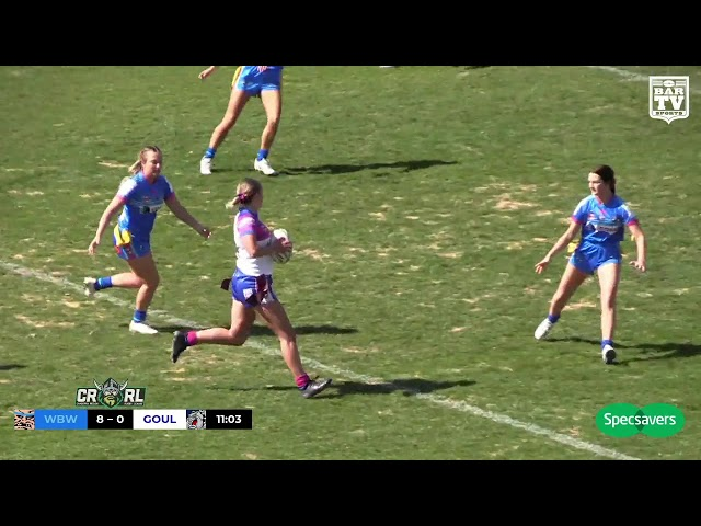 2019 Canberra RL - Ladies Tag Grand Final Highlights - West Belconnen v Goulburn Workers