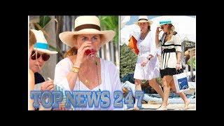 Sarah Ferguson Duchess of York drinks wine with Beatrice amid Prince Andrew rumours