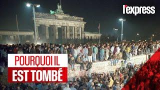 Pourquoi le mur de Berlin est-il tombé le 9 novembre 1989?