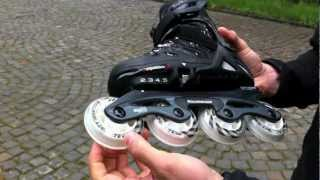 Детские ролики Rollerblade Spitfire TW(В этом видео-обзоре вы узнаете об основных характеристиках роликов Rollerblade Spitfire TW, увидите, как меняется..., 2012-05-13T09:07:13.000Z)