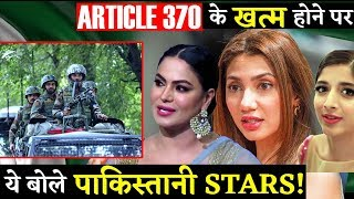 This Is How Pakistani Stars Reacted on Revoking Article 370