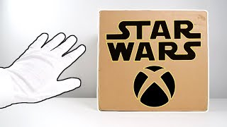 "Xbox 360 ""Star Wars"" Limited Edition Console Unboxing (Kinect Sensor)"