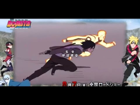 BORUTO NARUTO THE MOVIE OPENING with (KANA BOON-DIVER)
