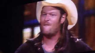 blake shelton some beach kansas city 10 3 13