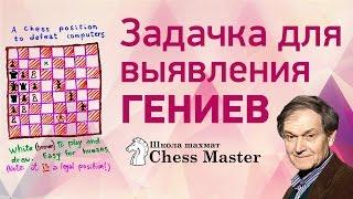 Пенроуз ответил на письмо! Решение шахматной задачки для выявления гениев