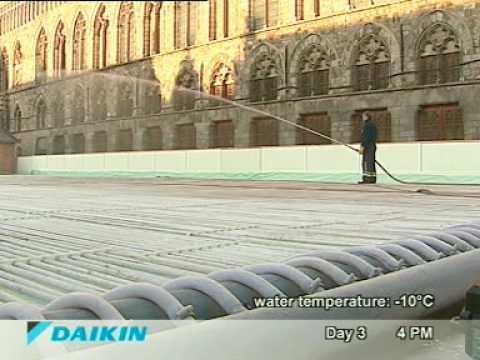 DAIKIN ice-rink - YouTube
