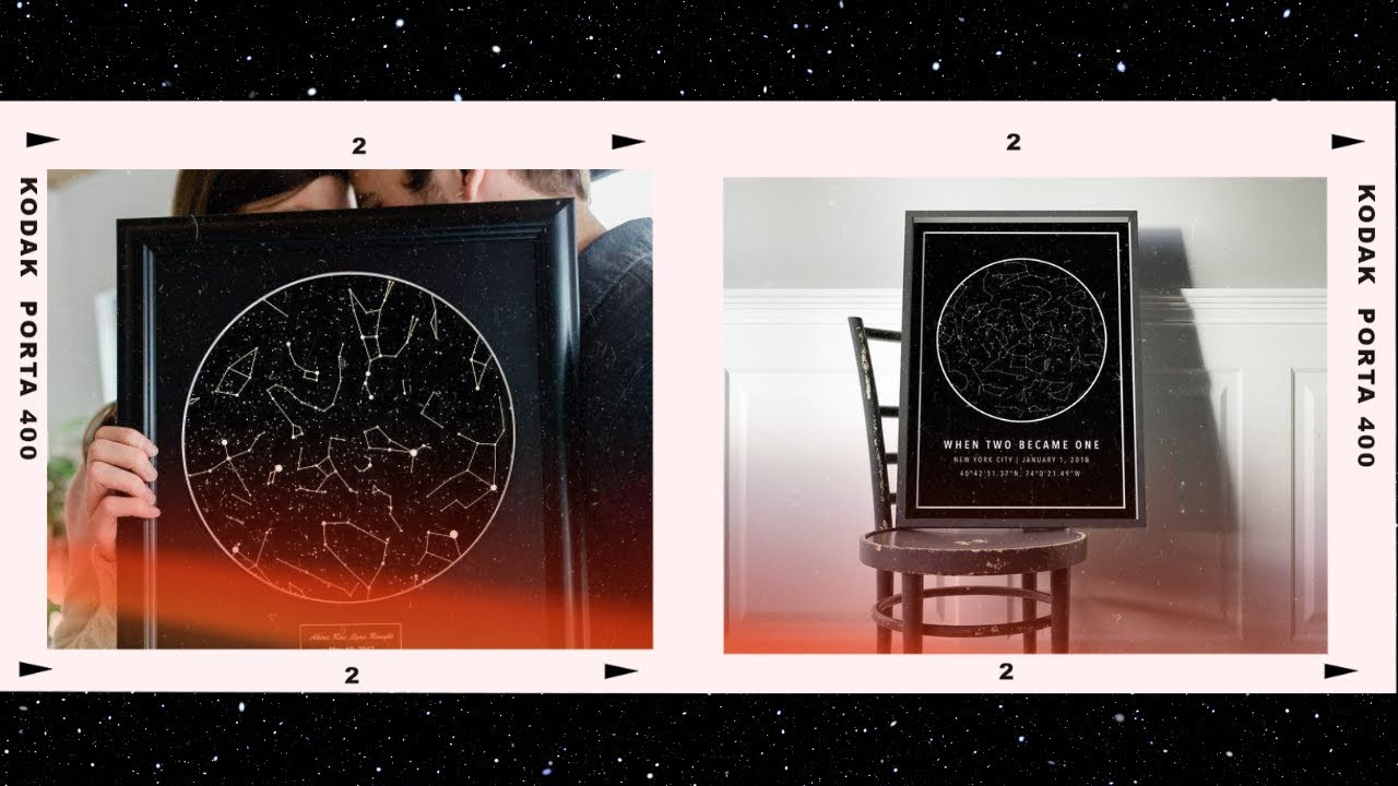 Download How to Make a Star Map at home using Photoshop   Christmas gift idea