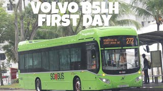 (SBST) Brand New Euro 6 Volvo B5LH on the run!  SG3002M - Service 272