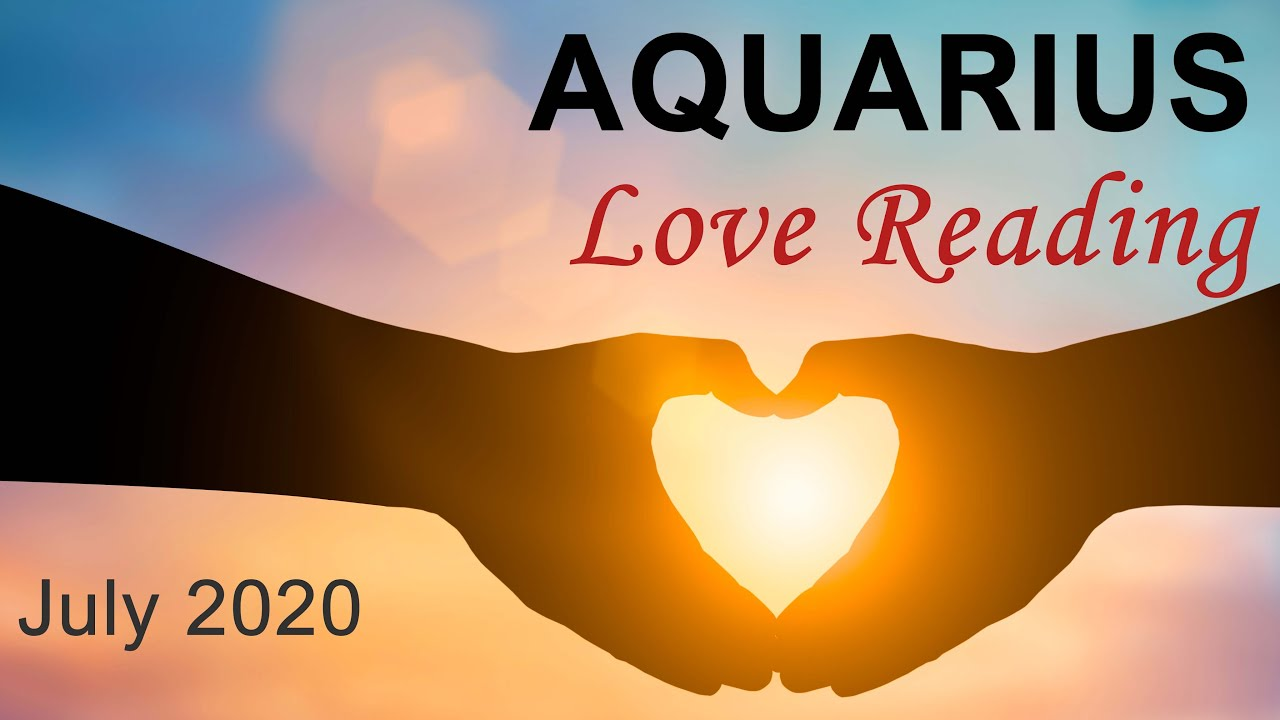 "AQUARIUS LOVE READING JULY 2020 ""NEW LOVE VIBES AQUARIUS!"" Intuitive Tarot Forecast"