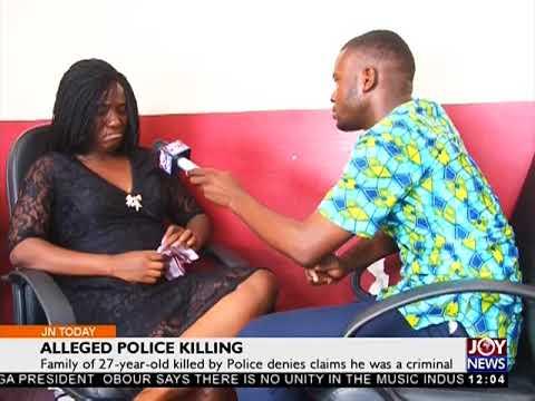 Alleged Police killing - Joy News Today (20-4-18)