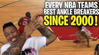 Every NBA Team's Best ANKLE BREAKER Since 2000 Narrated By A Bum