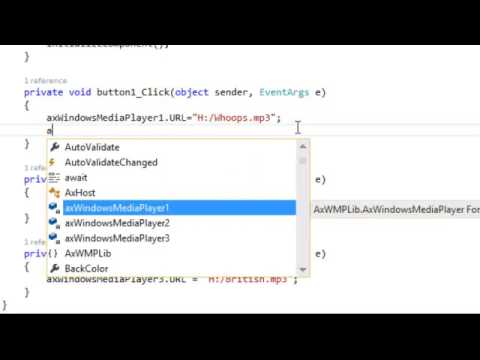 How to Play multiple Sound files in Windows Forms App C#  NET at a same time   Playing Sounds C#