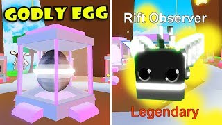 NEW UPDATE!! GODLY EGG + DINIVE PETS & GOT A NEW LEGENDARY PETS In PET RANCH SIMULATOR! [Roblox]
