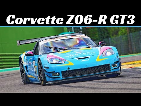Listen to the LS7-Powered Rumble of Callaway's Z06.R GT3 Corvette Race Car